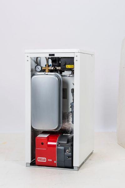 Warmflow Agentis internal system oil boiler 26kW