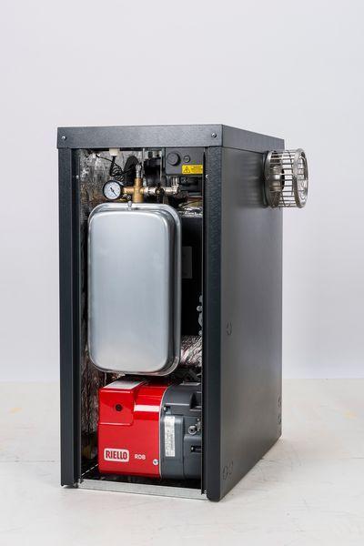 Warmflow Agentis external pumped system oil boler 26kW