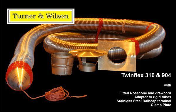 T & W MULTIFUEL TWINFLEX 316 PACK 6 12M