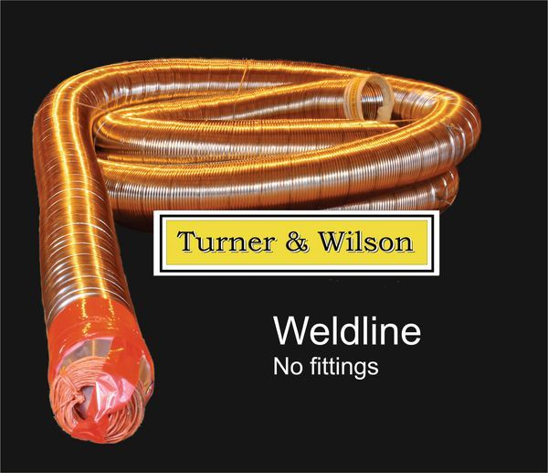 Turner and Wilson weldline flue liner meter 7