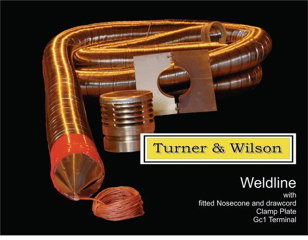 Turner and Wilson flue liner pack including fittings 5 10M