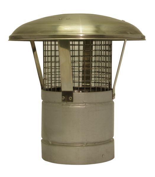 Specflue SFL ILS 150MM RAINCAP W/MESH 0907406