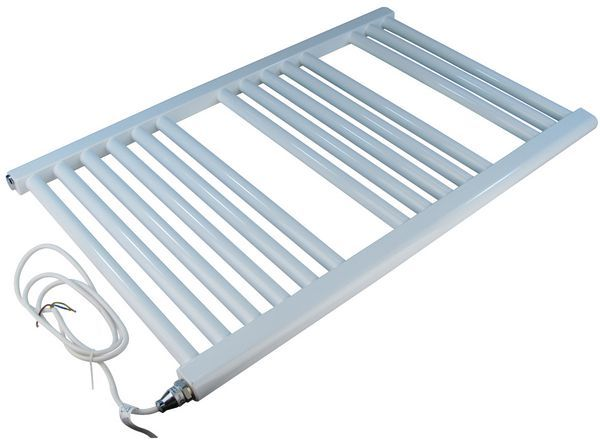 Wolseley Own Brand Center Center Brand electric straight towel warmer 1200 x 600mm White