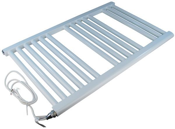 Wolseley Own Brand Center Center Brand electric straight towel warmer 1800 x 600mm White
