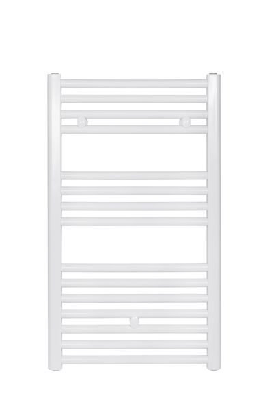 Wolseley Own Brand CenterRail straight towel warmer 862 x 600mm White