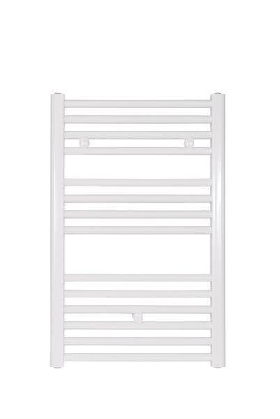 Wolseley Own Brand Tradefix straight towel warmer 772 x 450mm White