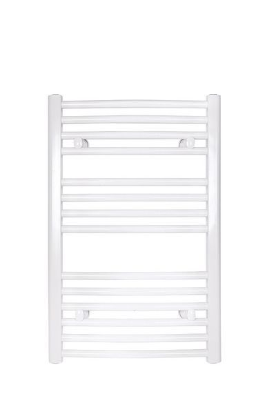 Wolseley Own Brand Tradefix curved towel warmer 772 x 500mm White