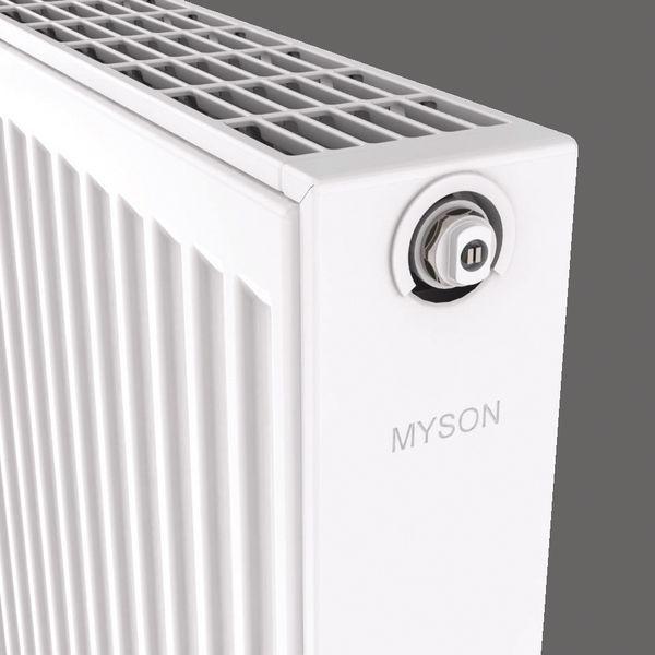 Myson Select Compact single convector radiator 600 mm X 600 mm 1978 BTU/h