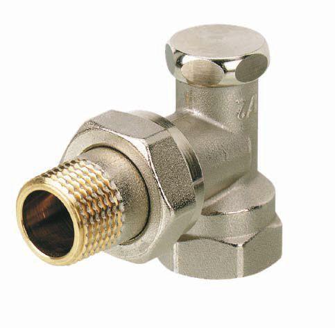 Danfoss RLV-S vertical angle valve 1/2 15mm