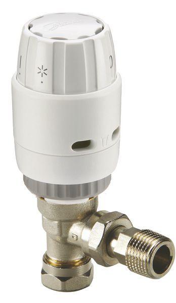 Danfoss RAS-C2 angled thermostatic radiator valve 10mm
