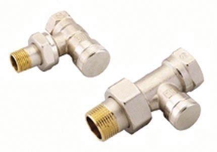 Danfoss RLV-15 lock shield straight valve 1/2