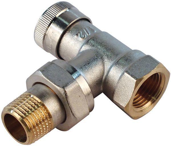 Danfoss RLV-15 angled lock shield valve 1/2