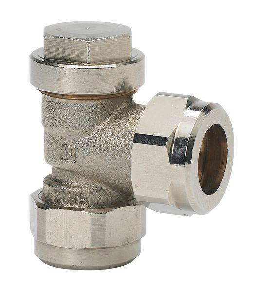 Honeywell VX15 EG lockshield valve 15 mm