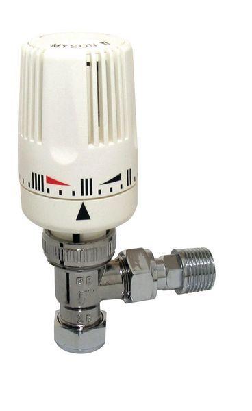 Myson thermostatic radiator valve 15mm Chrome Plated