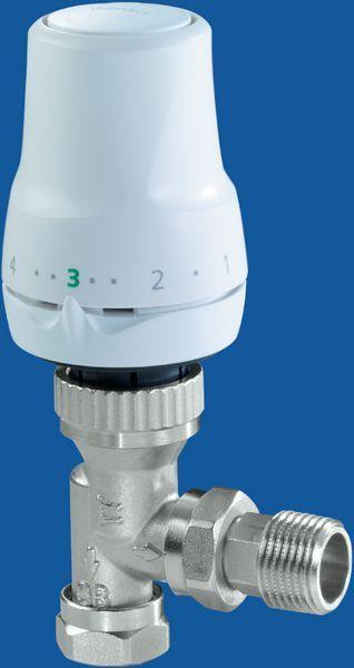 Siemens 2 way liquid sensing thermostatic radiator valve 15/10mm