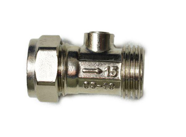 Midbras Midland Brass BFIVFF-15 flat faced iso valve 15mm x 1/2