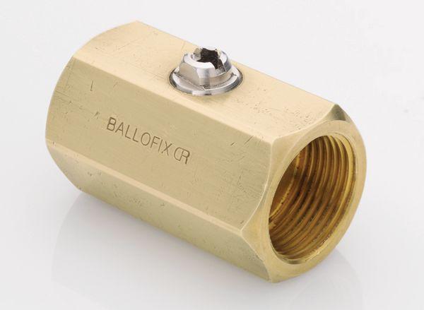 Pegler Yorkshire Ballofix 3550YA female x female valve 1 Brass