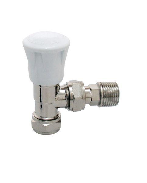 Myson Matchmate 2 wheel-head valve 15mm Nickel