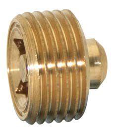Midland Brass brass air cock 1/8