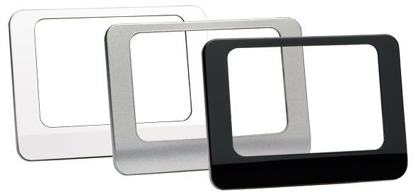Honeywell HWELL EVOTOUCH FRONT COVERS SILVER/BLACK