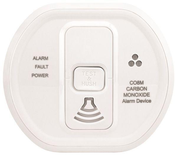 Honeywell Evohome wireless carbon monoxide sensor White