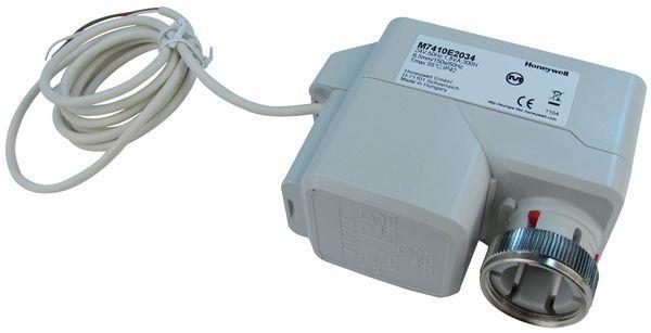 Honeywell M7410E2034 actuator + manual override 24v 0/2-10vdc
