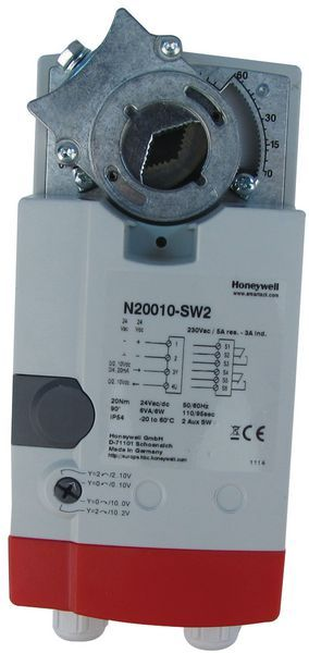 Honeywell n20010-sw2 smartact act with auxilliary switch