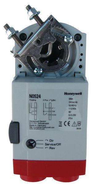 Honeywell n0524 damper motor 5nm 24vdc on/off