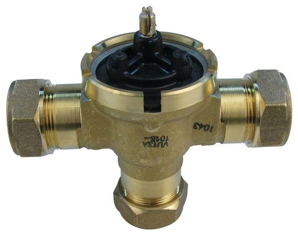 Honeywell Smartfit 3 way valve body 22mm