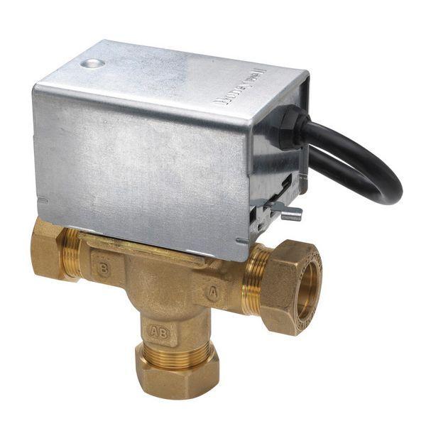 Honeywell V4073A 1039 mid position valve 22mm
