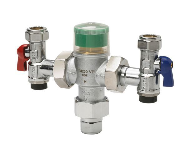 Honeywell TM200VP thermostatic mixing valve 15mm