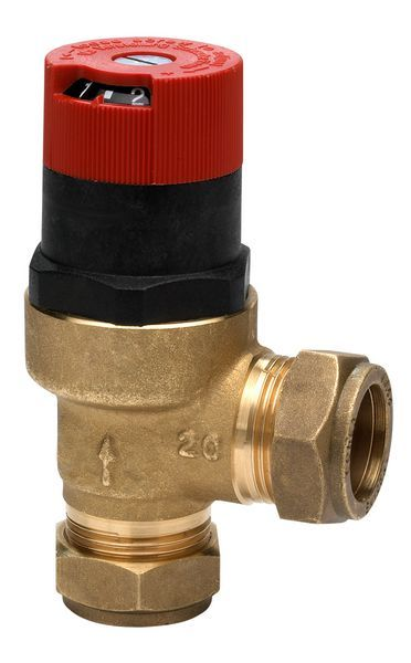 Honeywell DU145B differential by pass valve 22mm