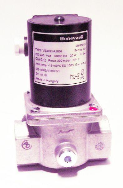 Honeywell VE4025A1004 bsp gas shut off valve 1 inch