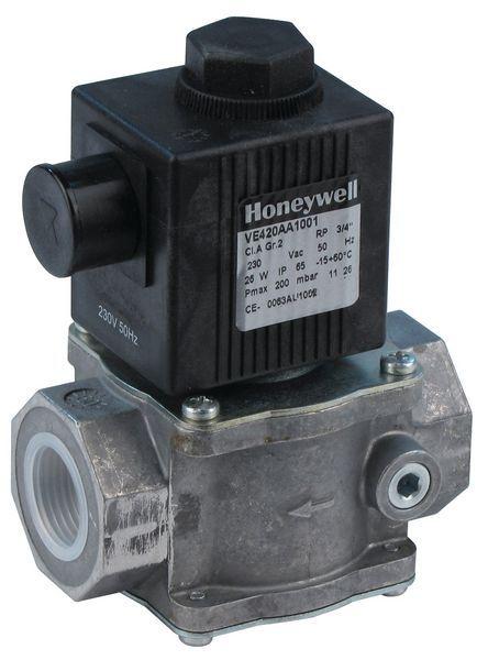 Honeywell ve 420aa 1001 3/4 230v gas valve