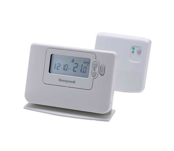 Honeywell CM721 24 hour programmable room thermostat radio frequency controlled