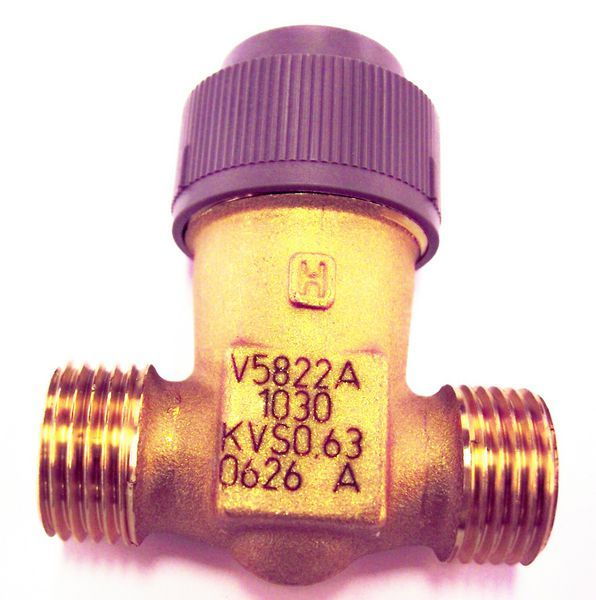 Honeywell v5822a1030 2 port dn15 15mm kv 0.63