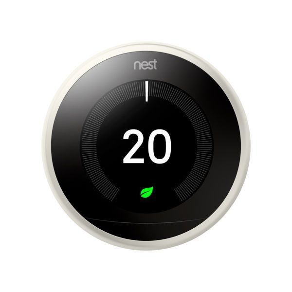 NEST LEARNING THERMOSTAT 3RD GEN WHITE