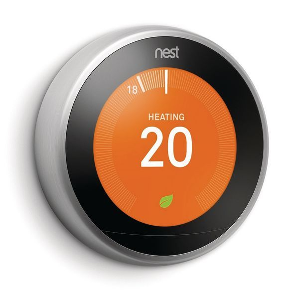 Exertis Nest 3rd Generation learning thermostat Stainless Steel