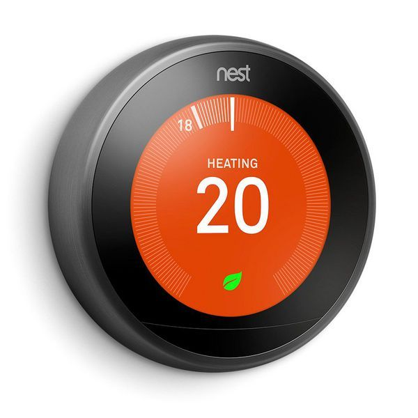 Exertis Nest 3rd Generation learning thermostat Black