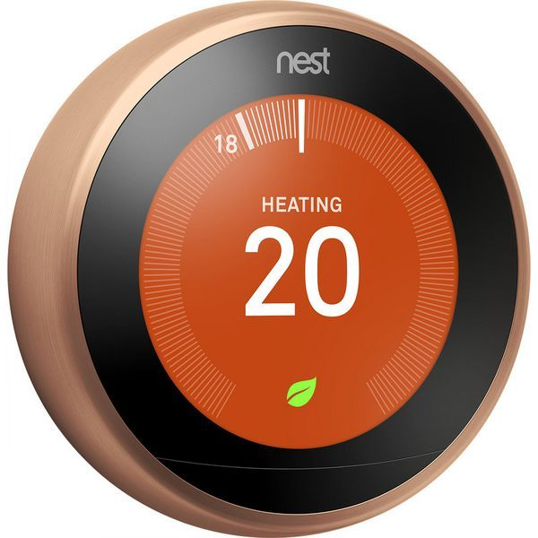Nest 3rd Generation thermostat Copper
