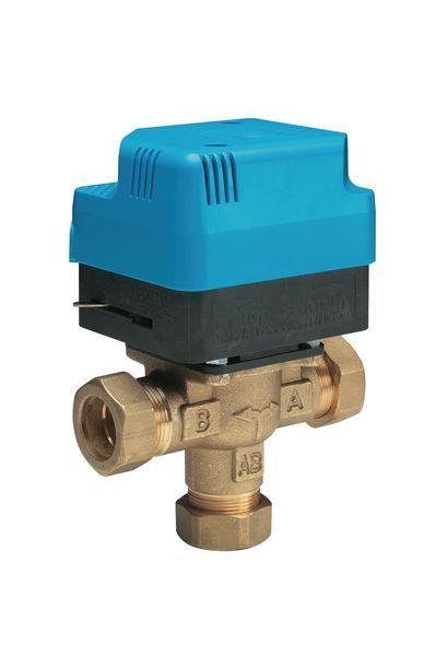 Horstmann Z322 extra large 3-port valve 22mm