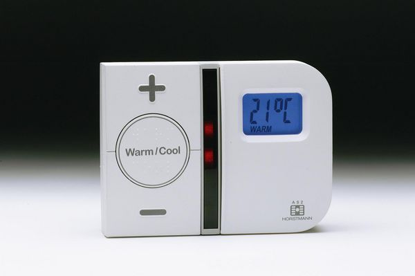 Horstmann AS2 programmable room thermostat with battery