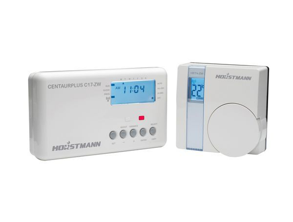 Horstmann CentaurPlus radio frequency controlled timeswitch and thermostat