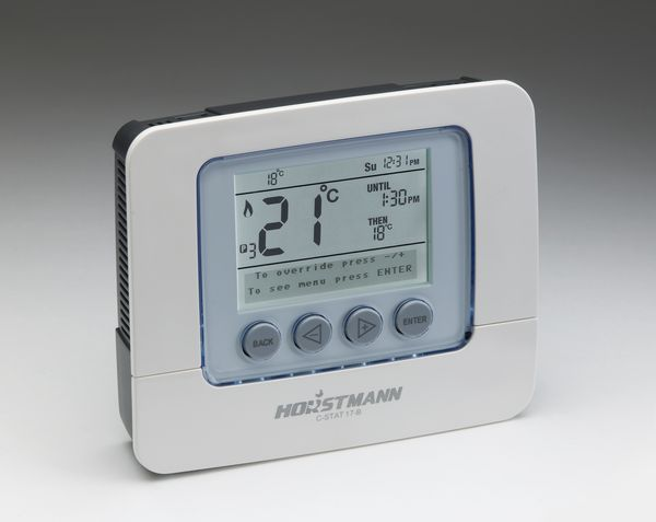 Horstmann C-stat 17B 7 day programmable room thermostat batteries needed