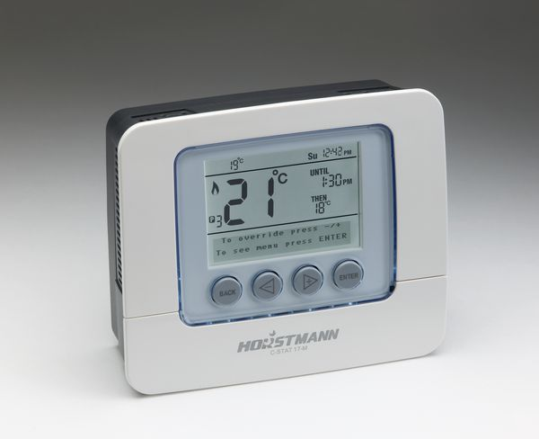 Horstmann C-stat 17M 7 day programmable room thermostat mains powered