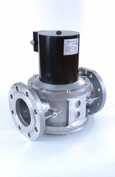 Fantini Banico ZEVF100 gas solenoid valve automatic-reset 100mm 230v