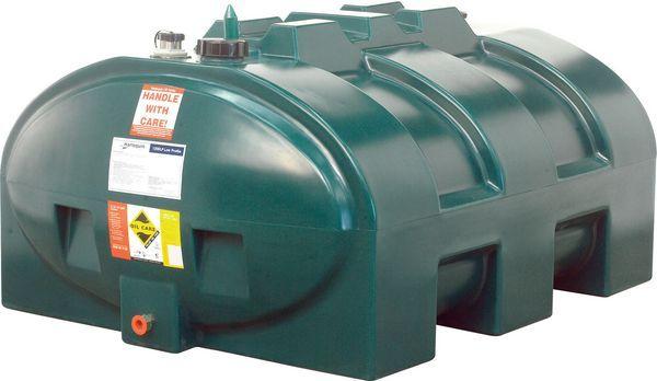 Harlequin low profile single skin oil tank 1200ltr