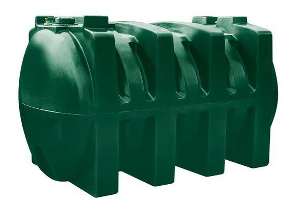 Kingspan Titan H2500 plastic oil storage tank