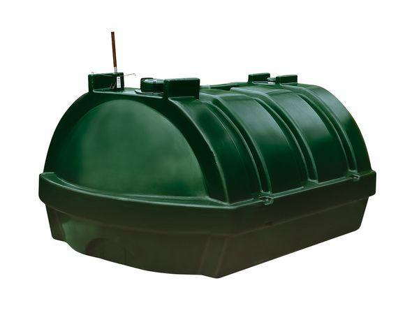 Kingspan Titan low profile talking plastic oil tank 1200ltr
