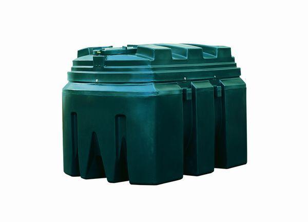Kingspan Titan/Ecosafe bottom outlet plastic oil tank 1300ltr
